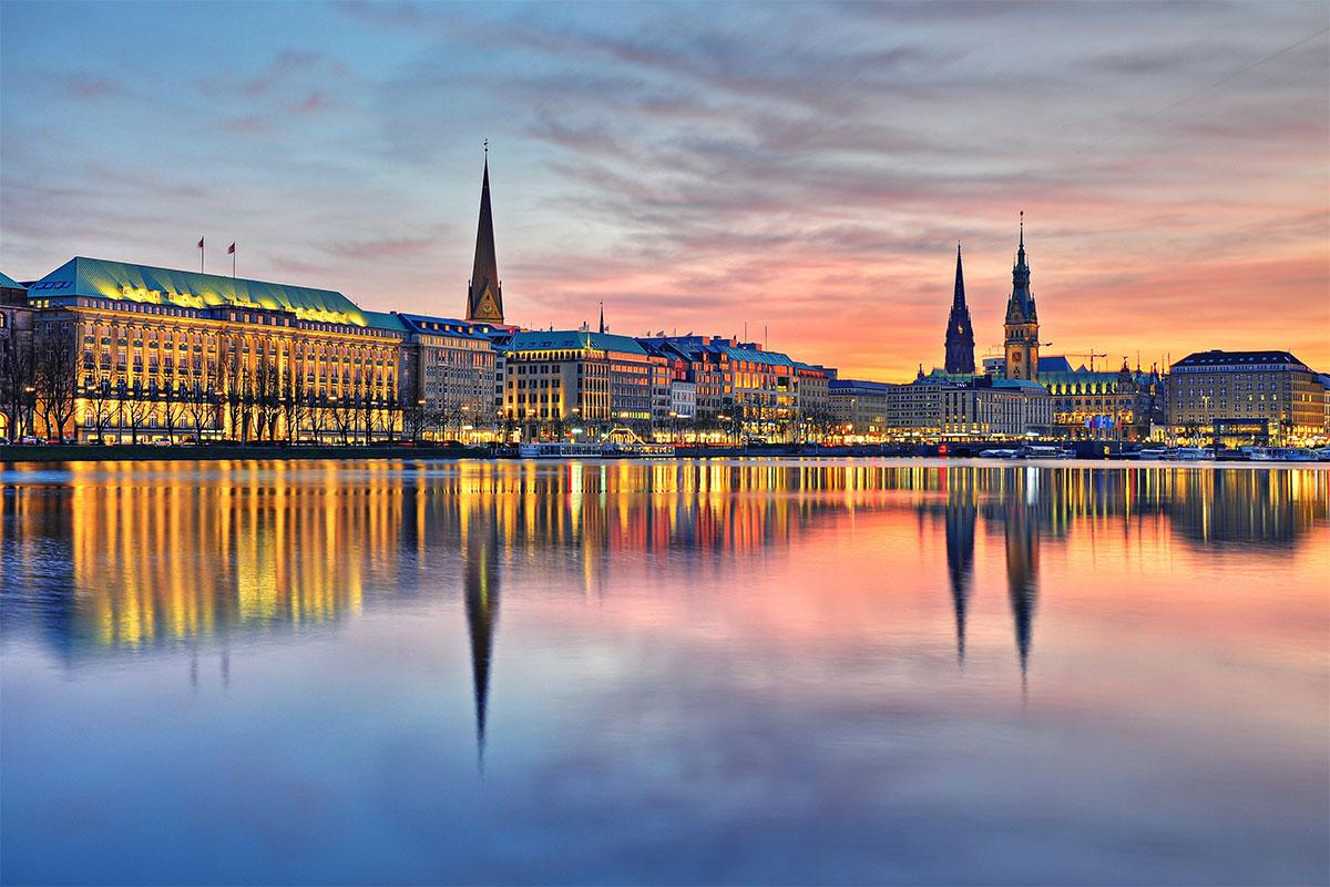La ciudad de Hamburgo en soy50plus
