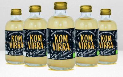 Komvirra, la nueva bebida sensación sin alcohol, sin azúcar y con solo 5 kilocalorías